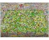 Puzzle Crazy fotbal - TRIANGULAR PUZZLE
