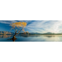 Puzzle Jezero Wanaca - PANORAMATICKÉ PUZZLE