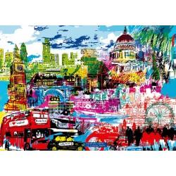 Puzzle Miluji Londýn