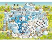Puzzle Zábavná ZOO - polární expozice