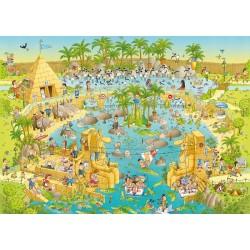 Puzzle Zábavná ZOO - expozice Nilu