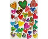 Puzzle Srdcová koláž