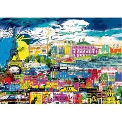 Puzzle I love Paris