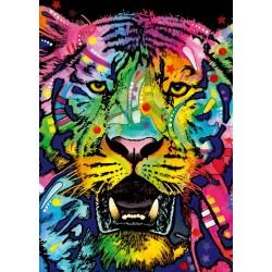 Puzzle Divoký tygr