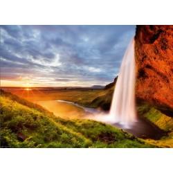 Puzzle Vodopád Seljalandsfoss