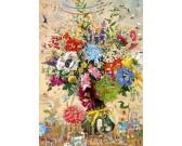 Puzzle Život květin - TRIANGULAR PUZZLE