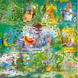 Puzzle Divoký svět