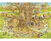 Puzzle Zábavné ZOO - opice