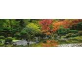 Puzzle Japonská zahrada - PANORAMATICKÉ PUZZLE