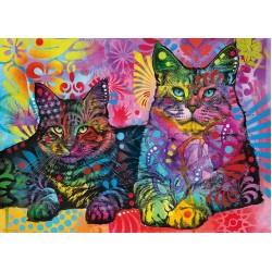 Puzzle Oddané kočky