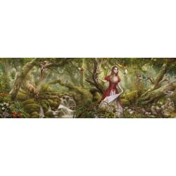 Puzzle Píseň lesa - PANORAMATICKÉ PUZZLE