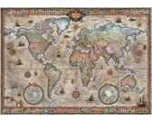 Puzzle Retro mapa