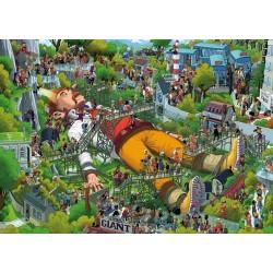 Puzzle Gulliver - TRIANGULAR PUZZLE