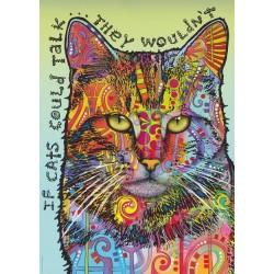 Puzzle Kdyby kočky mohly mluvit