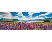Puzzle Jezero Tekapo - PANORAMATICKÉ PUZZLE