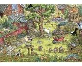 Puzzle Zahradní dobrodružství - TRIANGULAR PUZZLE