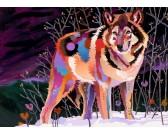 Puzzle Noční vlk