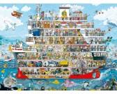 Puzzle Výletní plavba - TRIANGULAR PUZZLE