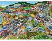 Puzzle Dopravní zácpa - TRIANGULAR PUZZLE