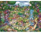 Puzzle Úžasné stromy - TRIANGULAR PUZZLE