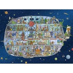 Puzzle Vesmírná loď - TRIANGULAR PUZZLE