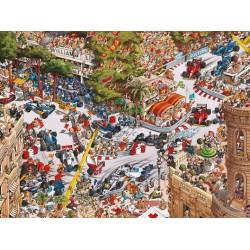 Puzzle Monako - TRIANGULAR PUZZLE