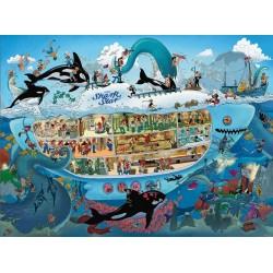Puzzle Podmořská zábava - TRIANGULAR PUZZLE