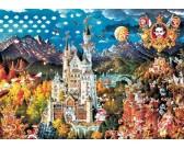 Puzzle Bavorsko - TRIANGULAR PUZZLE