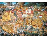 Puzzle Bitva u Trafalgaru - TRIANGULAR PUZZLE