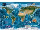 Puzzle Satelitní mapa