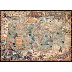 Puzzle Pirátská mapa
