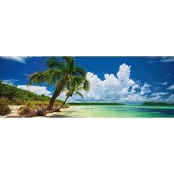 Puzzle Rajská pláž - PANORAMATICKÉ PUZZLE