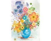 Puzzle Modrá váza