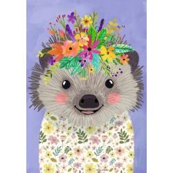 Puzzle Veselý ježek