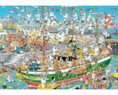 Puzzle Zmatek na lodi