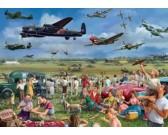 Puzzle Úžasná letecká show