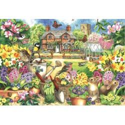 Puzzle Jarní zahrada