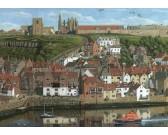 Puzzle Přístav Whitby, Yorkshire