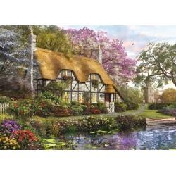 Puzzle Chatka na zahradě