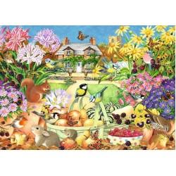 Puzzle Podzimní zahrada