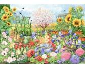 Puzzle Slunečnicová zahrada