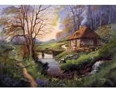 Puzzle Dům u lesa