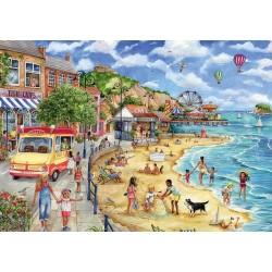Puzzle Plážová promenáda