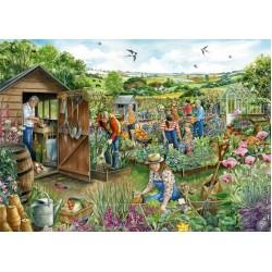 Puzzle Komunitní zahrada