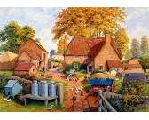 Puzzle Podzim na farmě