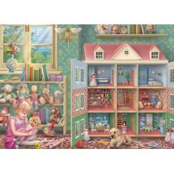 Puzzle Dům pro panenky