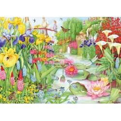 Puzzle Vodní zahrada