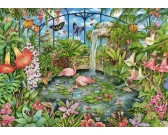 Puzzle Tropický skleník