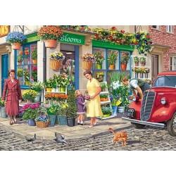 Puzzle Květinářství