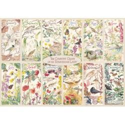 Puzzle Venkovský kalendář